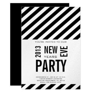 2013 Años Nuevos modernos de invitación del fiesta