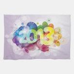 2013 Años Nuevos Toallas