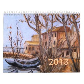 2013 Art Boats Calendar