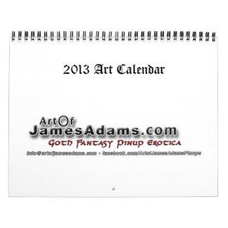 2013 art calendar