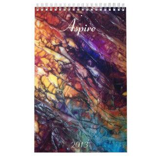 2013 Aspire Wall Calendars