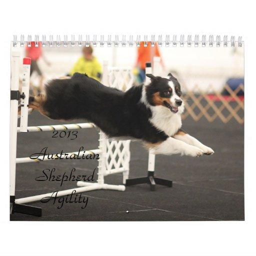 2013 Australian Shepherd Agility Calendar