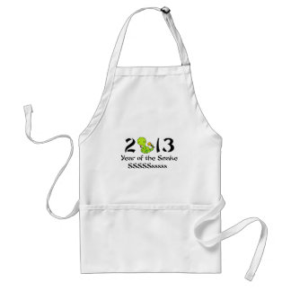 2013 Baby Snake - Green Adult Apron