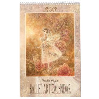 2013 Ballet Art Calendar