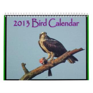 2013 Bird Calendar 3
