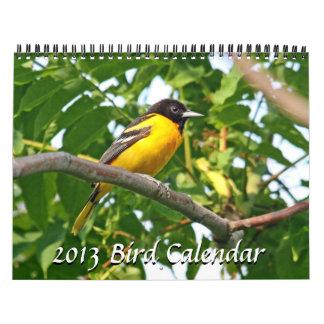 2013 - Bird Calendar - Debut Edition