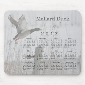 2013 Bird Calendar Mouse Pad