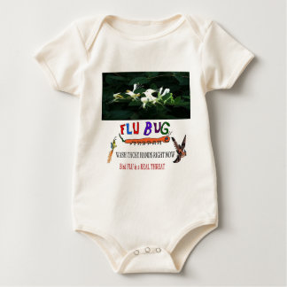 2013 Bird FLU Baby Bodysuit