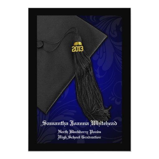 2013 Black/Blue Graduation (Click for 2014) Cards