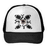 2013 Black Football black gold Trucker Hats