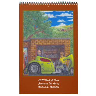 2013 Book Of Days Calender Calendar
