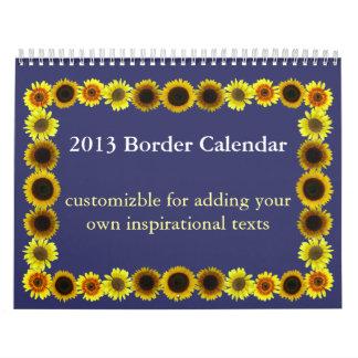 2013 Border Calendar
