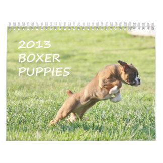2013 Boxer Puppy Calendar
