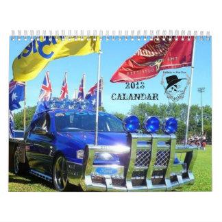 2013 Bullets in the Gun Ute Club Calendar