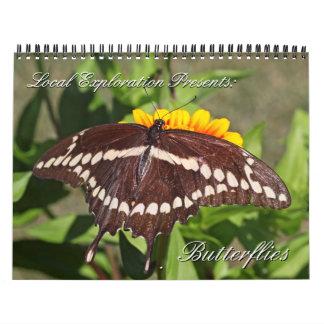 2013 - Butterfly Calendar