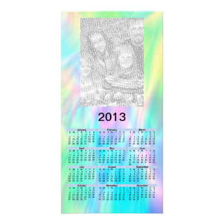 2013 Calendar Card - pastel