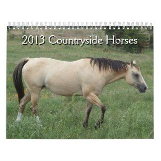 2013 Calendar Countryside Horses