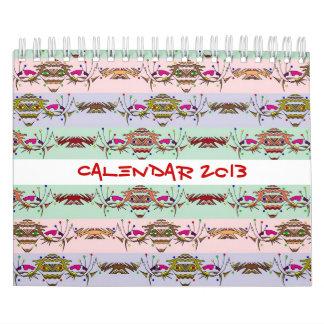 2013 Calendar - Creatures
