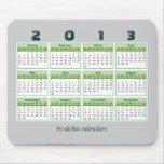 2013 Calendar Mousepad