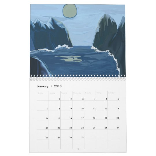 2013 Calendar of Scapes