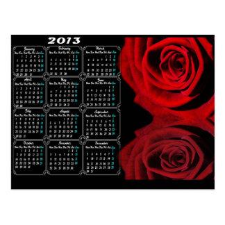 2013 Calendar Postcard