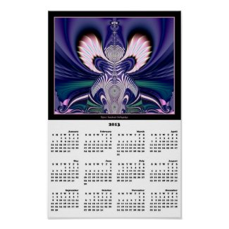 2013 Calendar Poster: Angel Fractal
