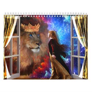 2013 calendar  prophetic art by Dolores DeVelde