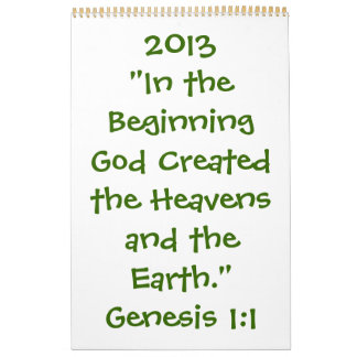 2013 Calendar Spiritual/inspirational