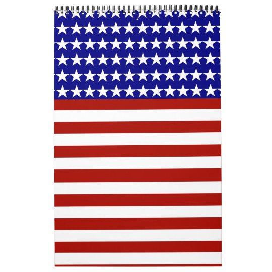 2013 Calendar - Stars and Stripes