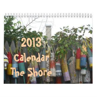 """2013 Calendar """"The Shore"""""""