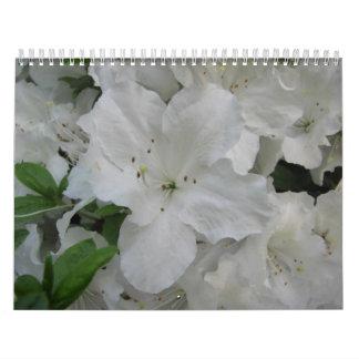 2013 Calendar:  White Azalea