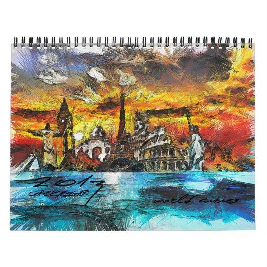 2013 Calendar World Cities