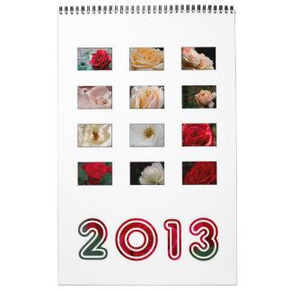 2013 - Calendario color de rosa