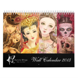 2013 calendario de la fantasía - arte de Mitzi