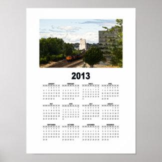 2013 - Calendario de pared urbano 1 Posters