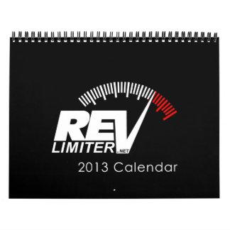 2013 calendario de revlimiter.net - versión de la