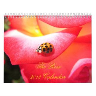 2013 calendario - el color de rosa