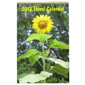 2013 - Calendario floral