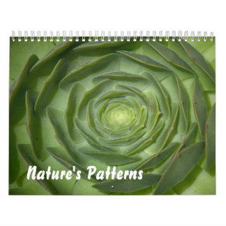 2013 calendario - los modelos de la naturaleza
