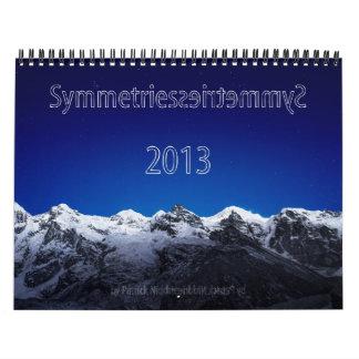 2013 calendario - simetrías de Patrick Niddrie