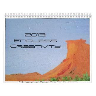 2013: Calendario sin fin de la creatividad