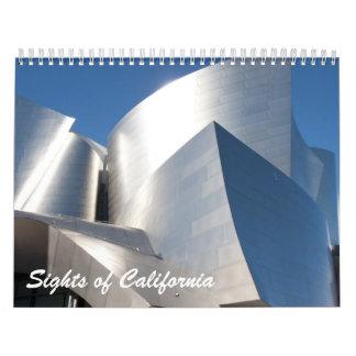 2013 calendario - vistas de California