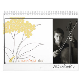 2013 calender whimsical photo calendar