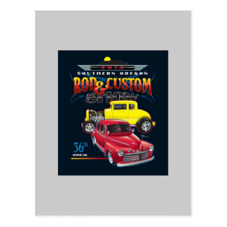 2013 Car Show Poster Rod & Custom Oregon Postcards