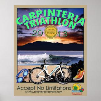 2013 Carpinteria Triathlon Poster