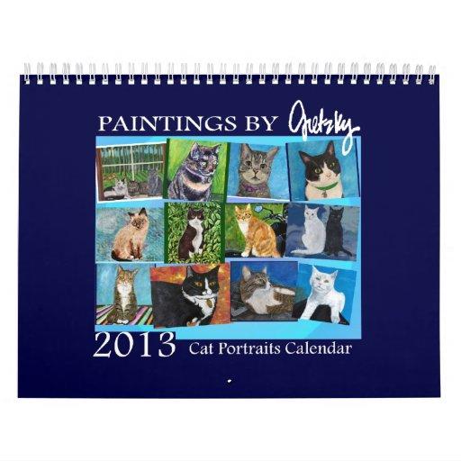2013 Cat Portraits Calendar