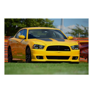 2013  Charger SRT8 Super Bee Poster