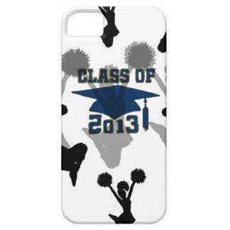 2013 cheerleader blue gray iPhone 5 case