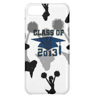 2013 cheerleader blue gray iPhone 5C case