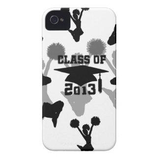 2013 Cheerleader graduation iPhone 4 Cases